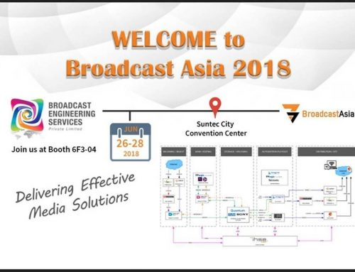 Welcome to Broadcast Asia 2018